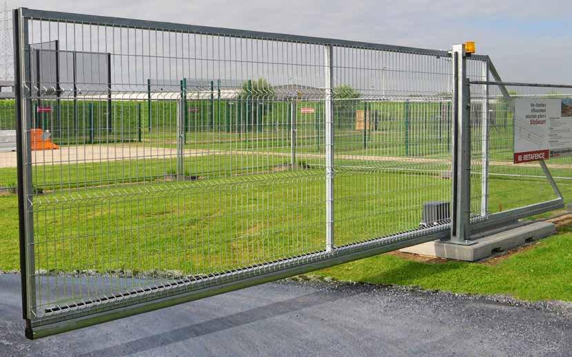 Передвижные ворота