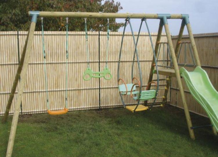 Детские площадки для дачи недорого своими руками