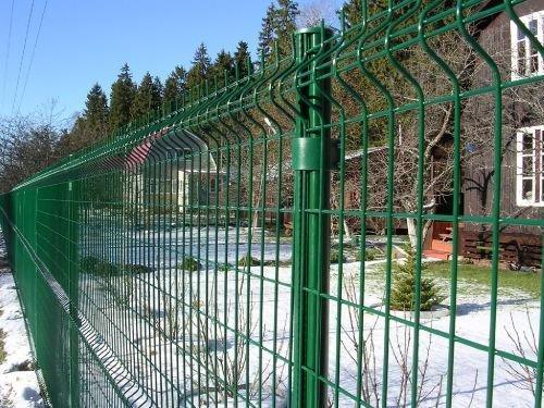 Забор из сварной оцинкованной