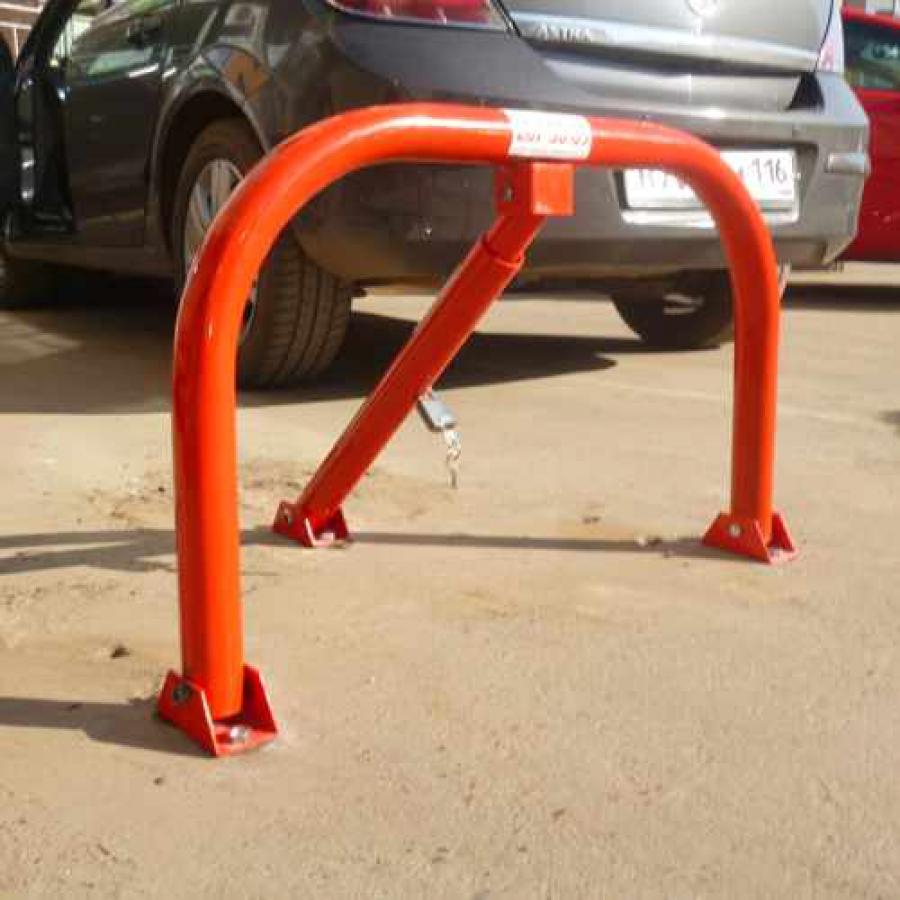 барьер парковочный складной